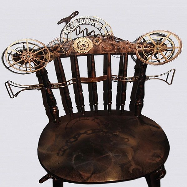 Top 34 ideas about steampunk on pinterest steam punk for Steam punk chair