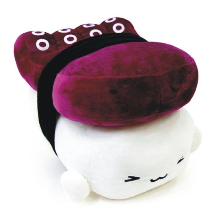 "kawaii Japan sushi cushion plush toy food children gift ~octopus 10"" 1pc in Home & Garden, Home Décor, Pillows | eBay"