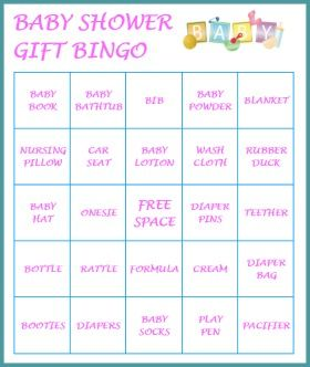 baby bingo baby shower bingo girl shower shower games shower party