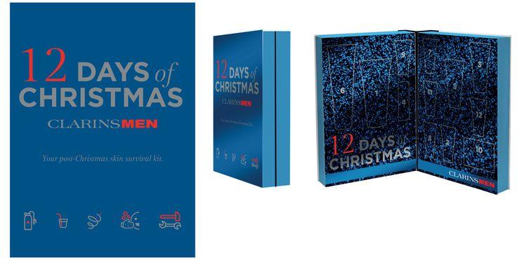 Clarins Mens Advent Calendar 2016