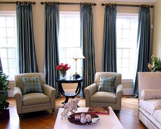 Modern Living Room Curtains | Modern Living Room Curtain Ideas