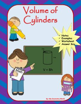 You will receive a worksheet as well as fill in the blank notes with the purchase of this resource.  Students will practice the necessary skills of volume cylinders to be successful in Geometry and to continue student success and growth.