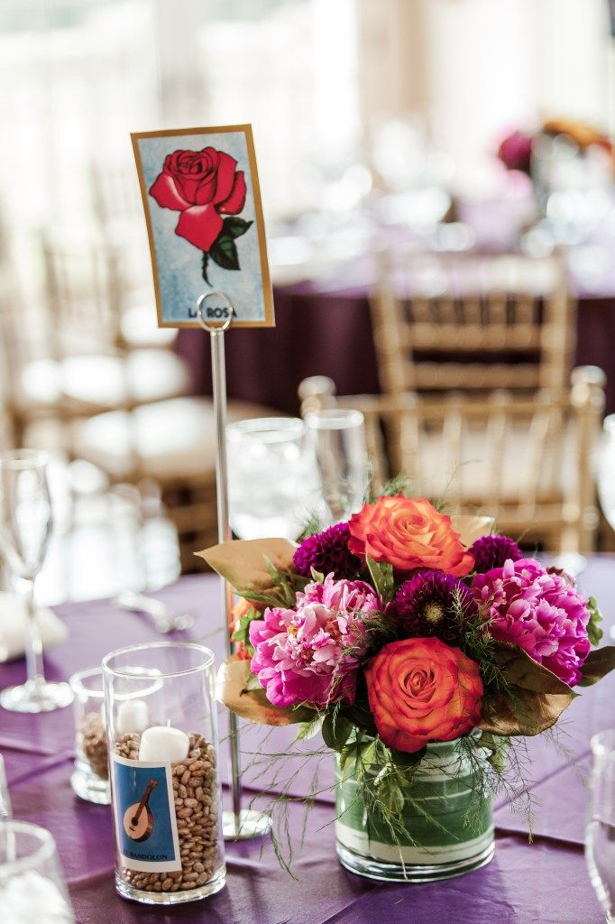 "Erika + Romulo: ""Mexican Loteria"" Themed Wedding at Morais Vineyards   BodaMaestra- Wedding Planning for Latin-American Couples. Modern Mexican Wedding"