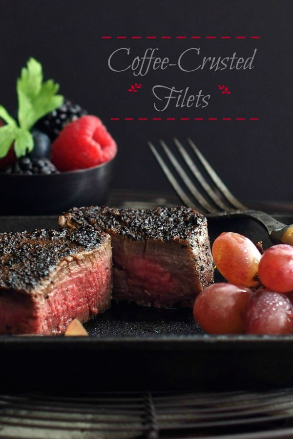 Coffee-Crusted Steak - Simply Sated