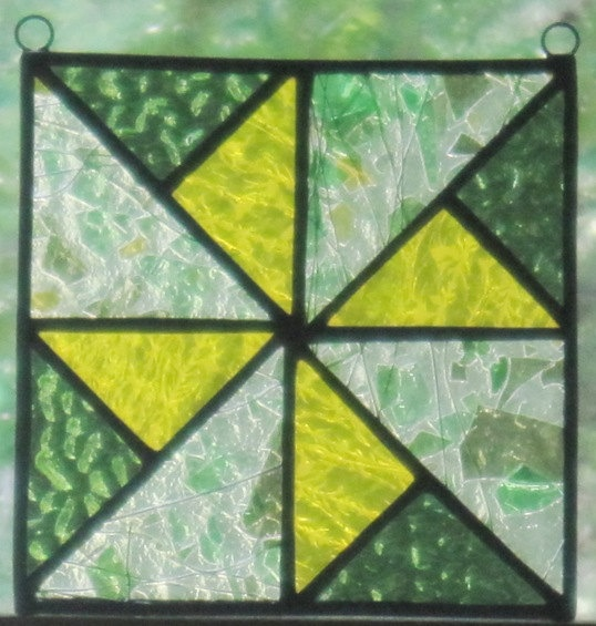 111 best stained glass quilt blocks images on pinterest for Window pane quilt design