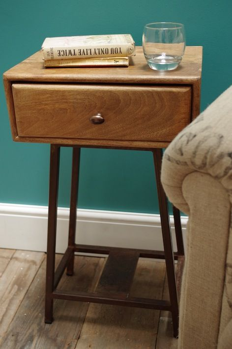 Vincent and Barn | Wood and Iron Side Table | £135 (£5.95 p&p)