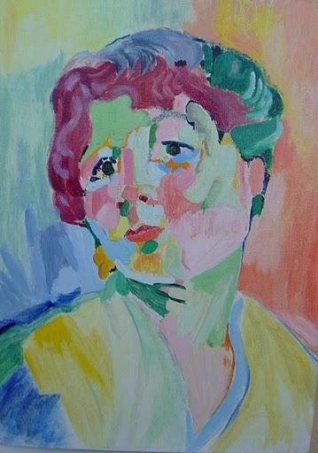 """Derain """"Portrait de femme"""""""