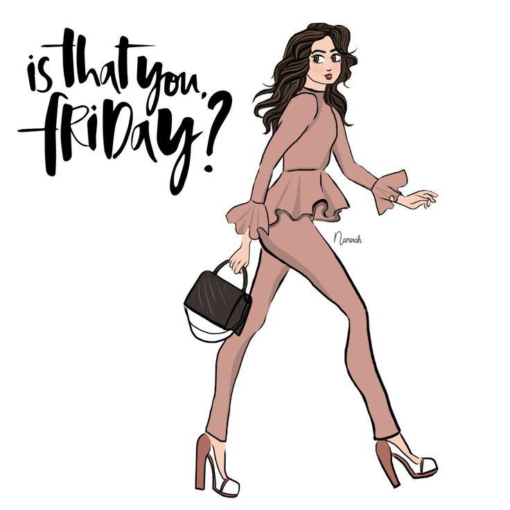 Friyay!  . . . . . . . #namirahsketches #illustration #fashiondesign #fashionillustrator #fashion #artdesign #malaysian #malaysianartist #instaart #fashionillustrator #digitalart #sketches #senilukis #lukisandigital #fesyen #instagrammers #freelancer #freelancefashionillustrator #lifestyle #hijabista #dailyart #adobephotoshop #rosegold