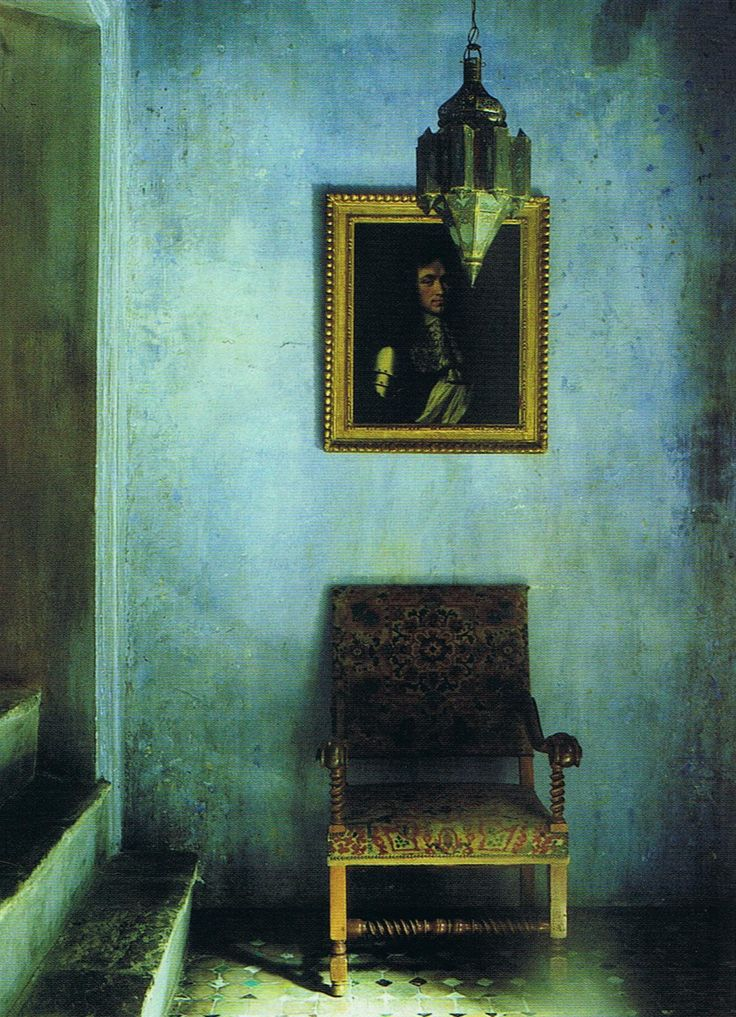 ,: Faux Finish, Plaster Wall, Color, Blue, World Of Interiors, House, Design
