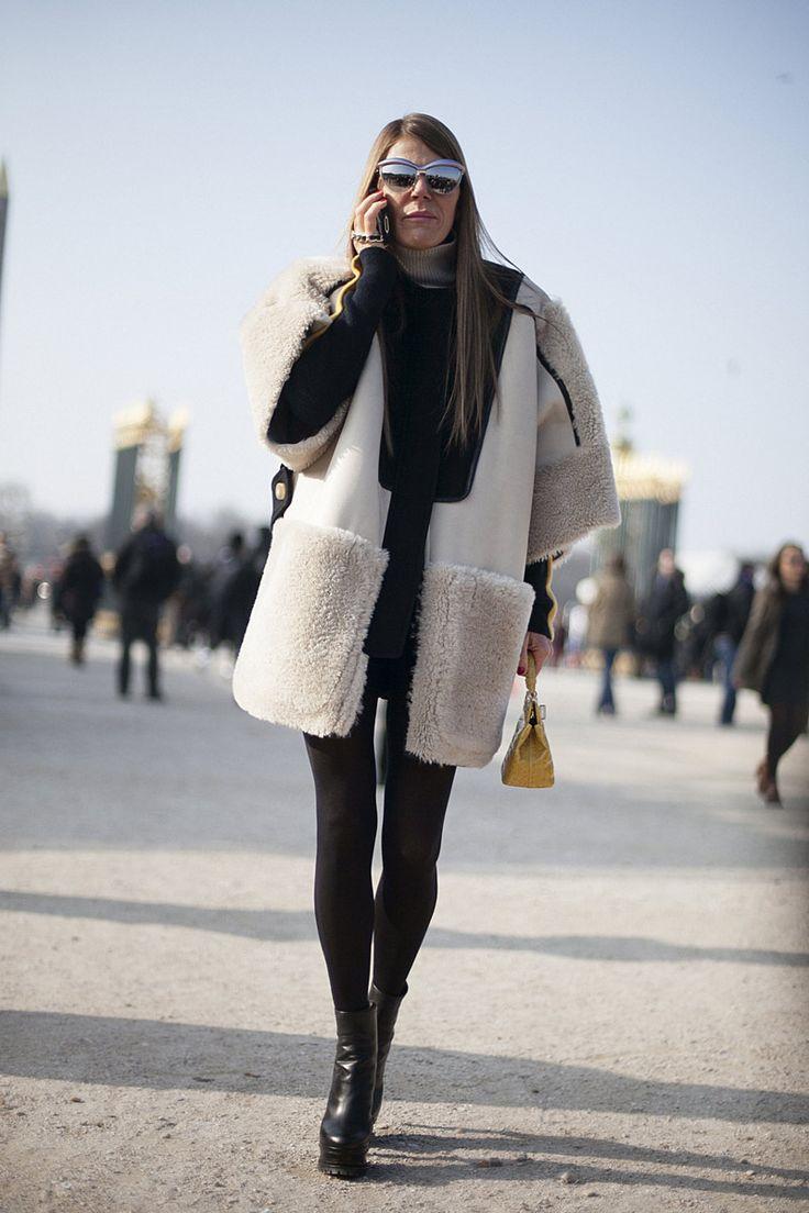 Fotos de street style en Paris Fashion Week: Anna Dello Russo | Galería de fotos 146 de 322 | Vogue