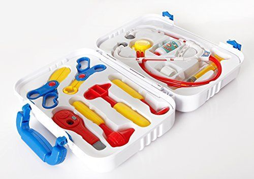Deluxe Doctor Toys Set - Medical Toys, Play Doctor Kit For Kids (Durable, No Electronic, Safe and Educational) * Want additional info? Click on the image.