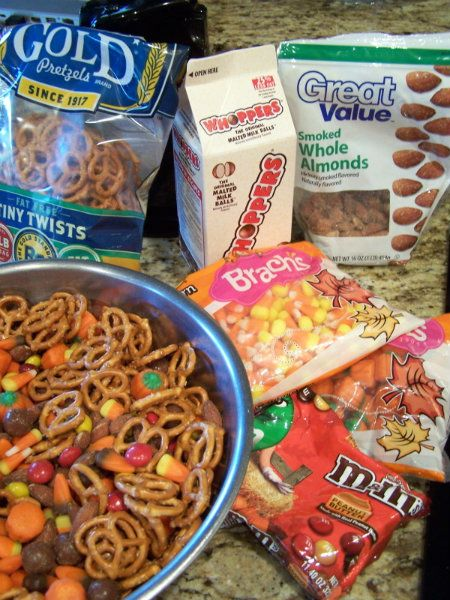 Autumn Snack Mix