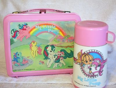 My Little Pony lunch box! Wow
