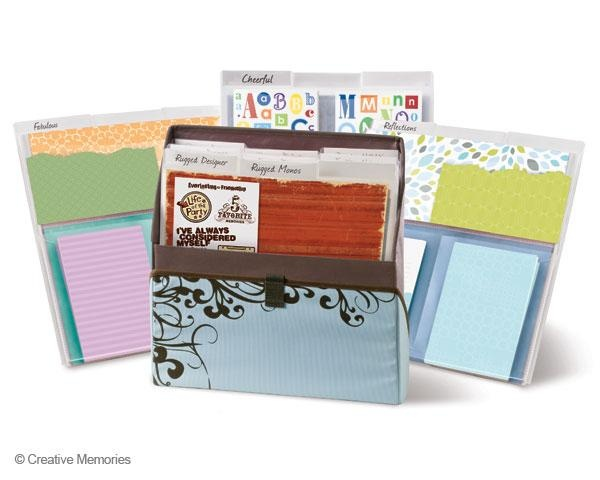 March Special-Power Palette Case & Folders Bundle from Creative Memories