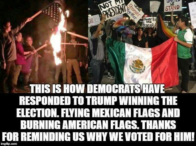 He's not your president because you're loyal to Mexico!!!