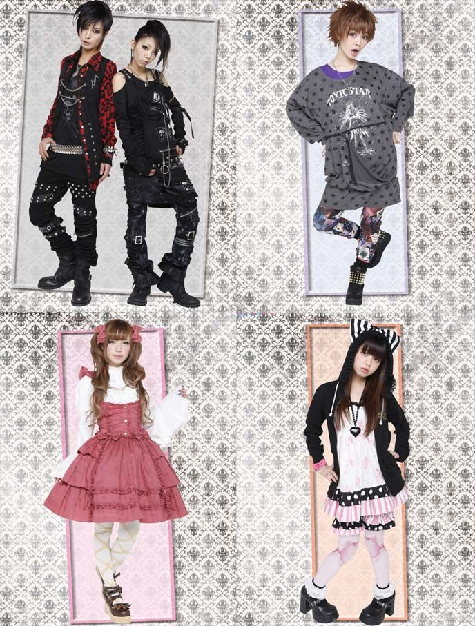 La Carmina's shopping guide to the BEST Gothic / Sweet Lolita, Harajuku & Punk stores, with links to Japanese designer websites!    I'm also giving away a sushi scarf & socks from Yummy You, by Twinkie Chan - come enter the kawaii contest.    http://www.lacarmina.com/blog/2013/02/gothic-lolita-clothing-links-buy-fashion-online-kera-harajuku-jrock/    Sex Pot Revenge, Toxic Star, Metamorphose temps de fille, Dangerous Nude, kera shop