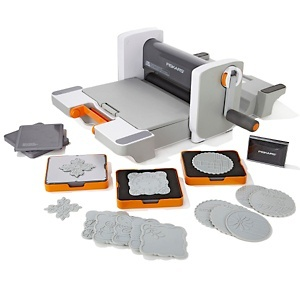 Fiskars Fuse Letterpress and Die-Cutting Machine at HSN.com. If anyone wants to buy me one of these, I will make you something & put you in my will....I neeeeeed this....lol