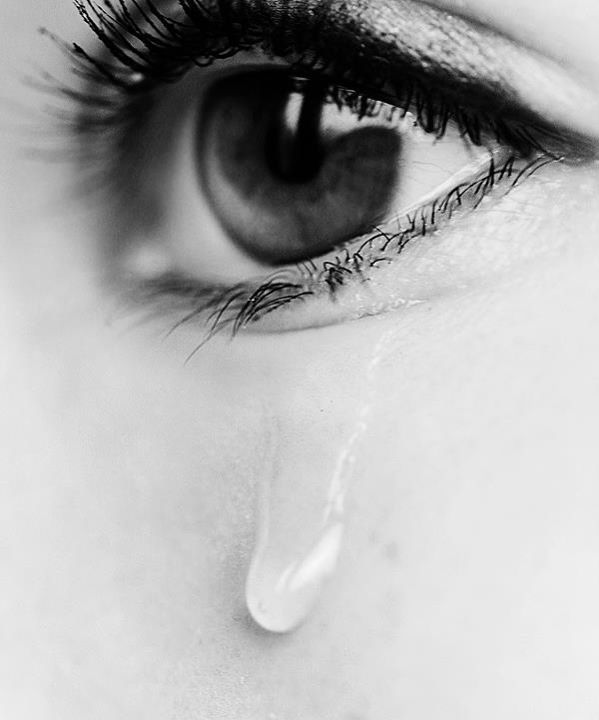 When a person cries and the first tear drop comes from the right eye, it's from happiness. But when the first roll is from the left, it is due to pain.  TRAUMA is SAD
