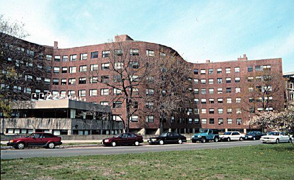 Alvar Aalto Baker House Dormitory. MIT. Heroic Modernism.