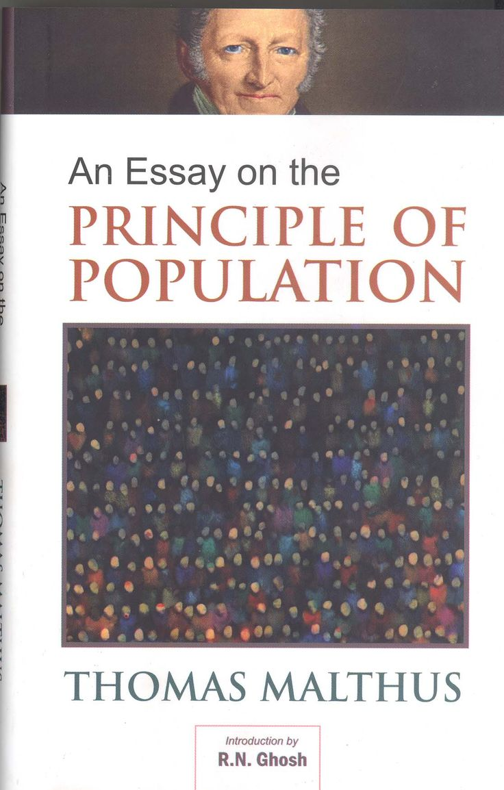 malthus an essay or dissertation regarding a basic principle in public offers with regards to friends