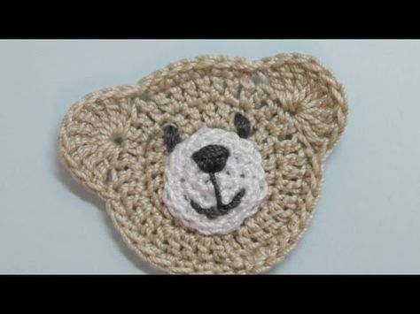 Wie erstelle ich eine niedliche gehäkelte Teddybär-Applikation? – DIY Crafts Tutorial – Guid …   – amigurumi