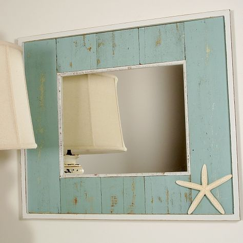 beach style bathroom mirrors 25 best ideas about starfish mirror on 17273