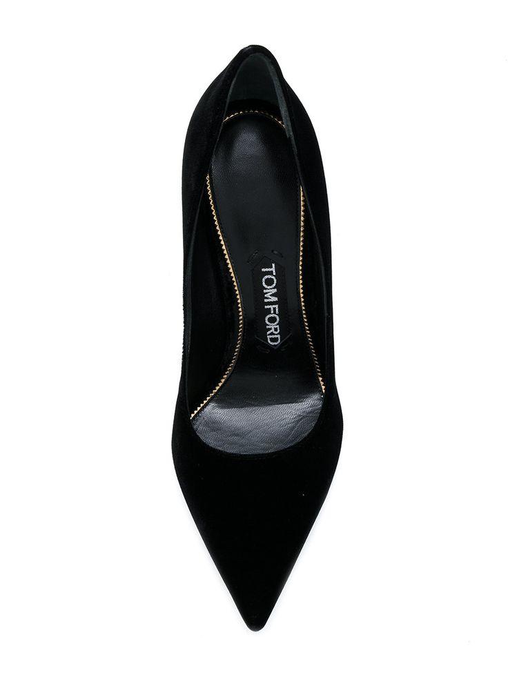 Tom Ford zapatos de tacón stiletto dorado
