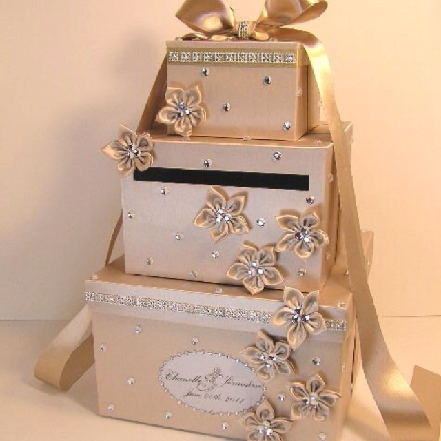 Wedding Gift Post Boxes For Cards: Wedding Gift-money Card Holder For Gift Table. Fabulous