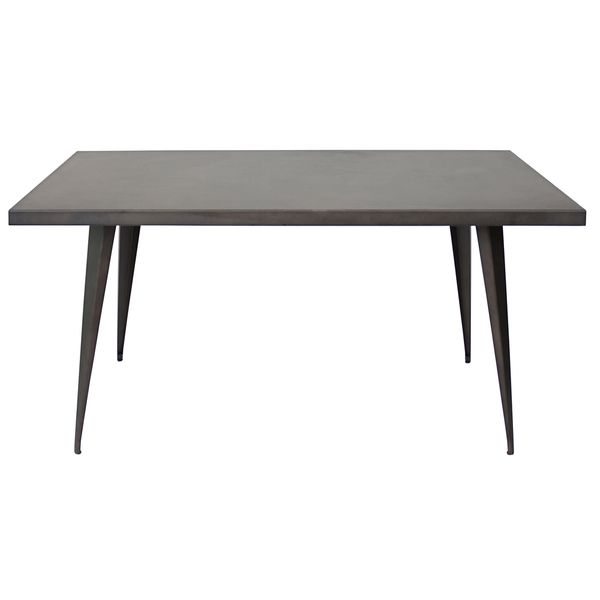 1000 ideas about industrial dining tables on pinterest for 32 wide dining table