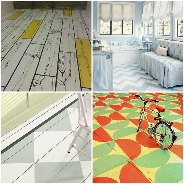 suelos pintados