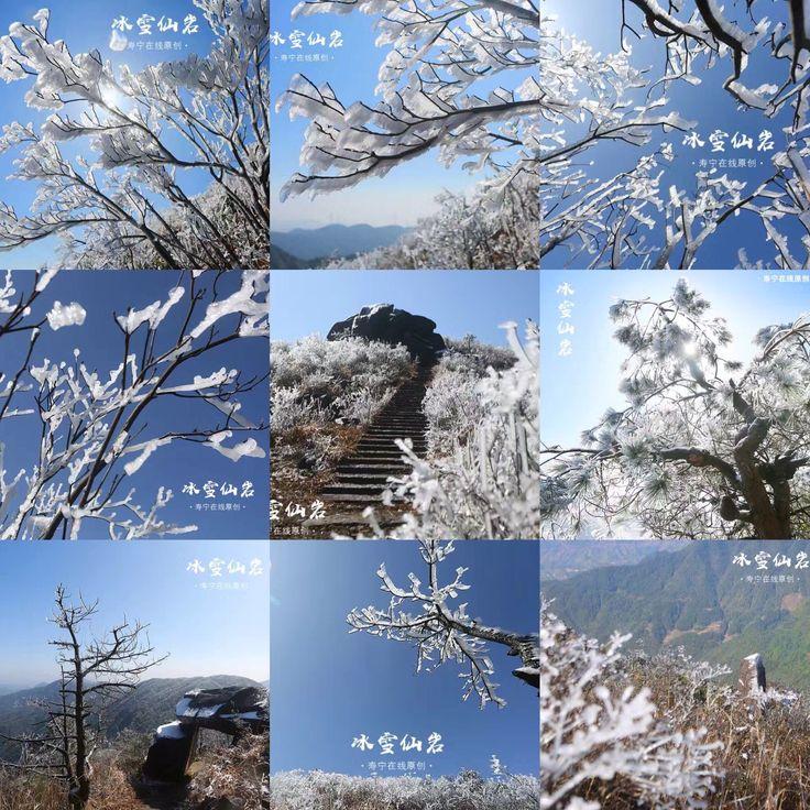 My hometown ——Ningde is snowing these days.Photo by  aochenglangzi. @ Ningde