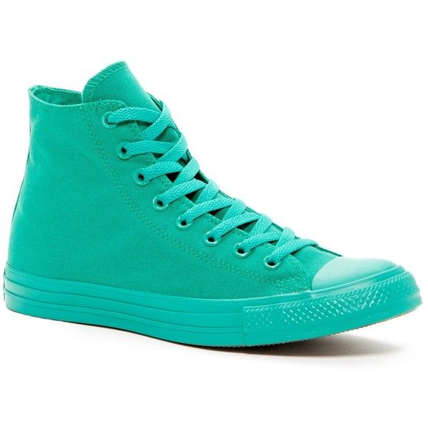 Converse Chuck Taylor All Star Hi-Top Sneaker (Unisex) (53 CAD) ❤ liked on Polyvore featuring men's fashion, men's shoes, men's sneakers, bosphorous gree, mens shoes, mens sneakers, mens high top sneakers, mens hi tops and mens hi top shoes