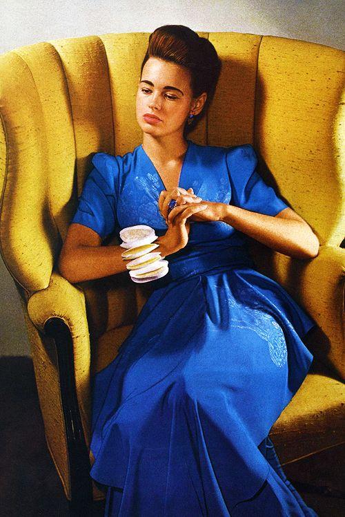 Gloria Vanderbilt, 1940s.