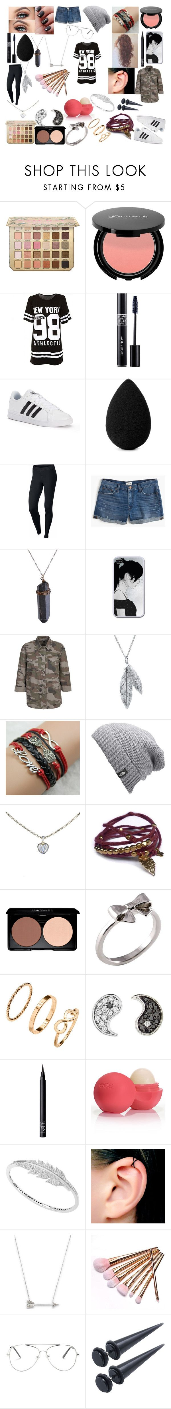 """#97"" by spider-1505 on Polyvore featuring Mode, Christian Dior, adidas, beautyblender, NIKE, J.Crew, Nina B, The North Face, Cartier und Gag & Lou"
