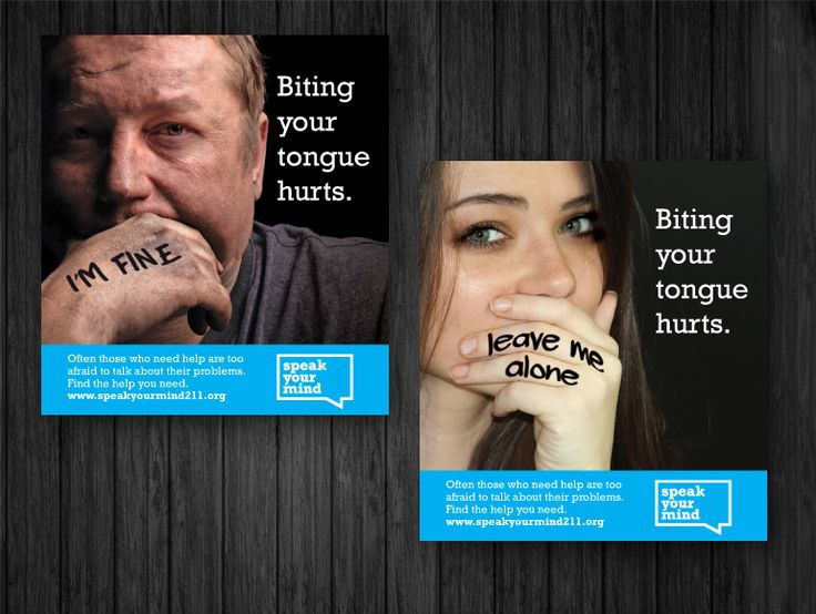 Speak Your Mind campaign promoting mental health services and awareness