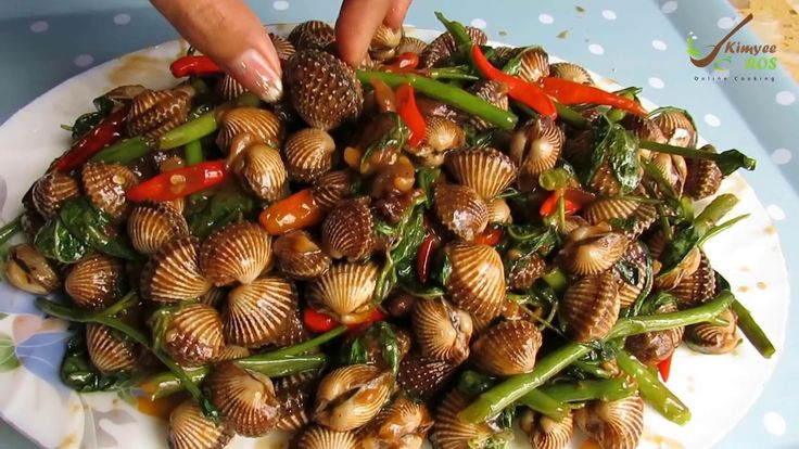 Stir-Fried Blood Cockles (Clams) With Tamarind || Blood Cockles Recipe |...