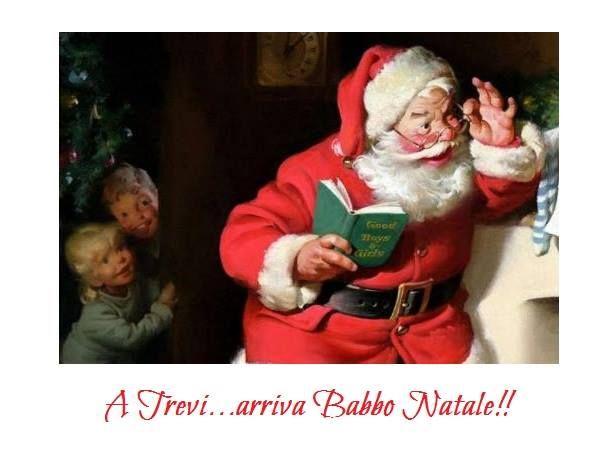 """Share the post """"Trevi: Arriva Babbo Natale…"""" FacebookTwitterGoogle+PinterestLinkedInE-mail 08 dicembre 2015 presso Ente Palio dei Terzieri, città di Trevi a Trevi. Arriva Babbo Natale…inserito nel programma di Natale Insieme – Appuntamenti sotto l'Albero, grandi e piccini sono invitati a Trevi per rivivere la calda atmosfera del Natale!! Aspettando la notte più magica dell'anno…"""
