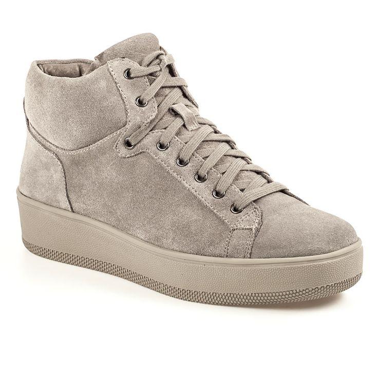 Jackstar Grey Suede Lace Up Sneaker - $160.00