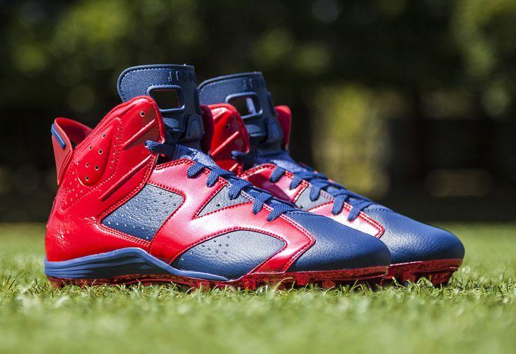 Air Jordan 6 Football Cleats