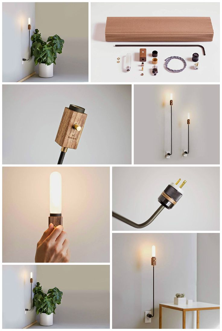 #Feldmark – #illuminazione in legno e metallo