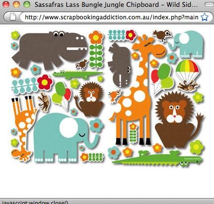 Jungle Animals ...cute
