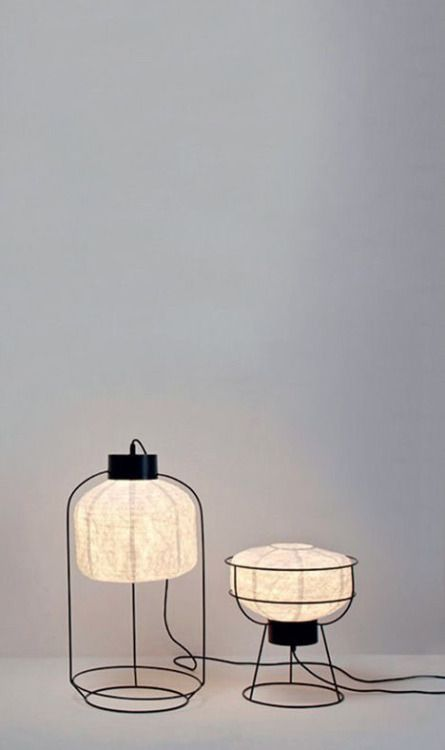 """wabisabimind: """" French designer and artist Arik Levy has presented a new collection of lighting for Forestier at Maison&Objet. """""""