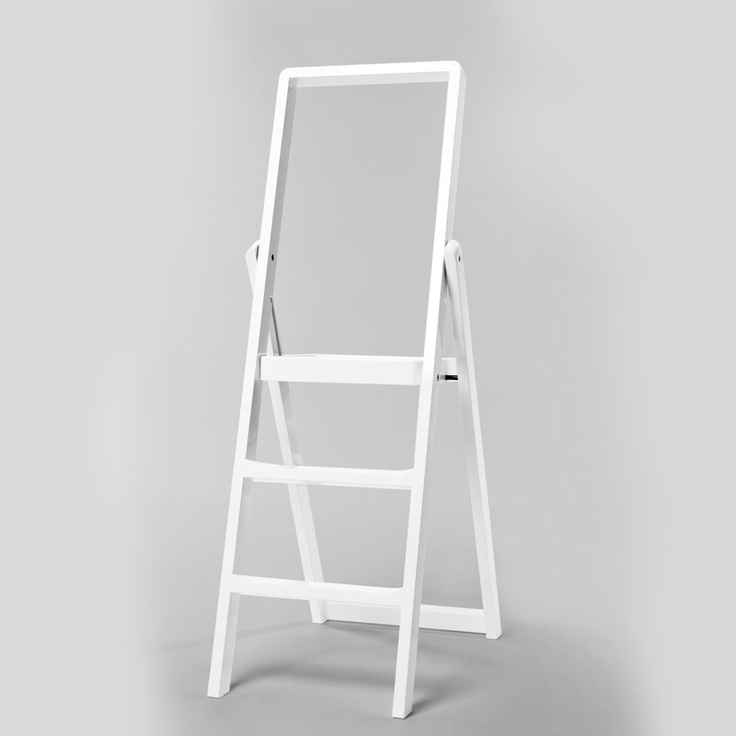 Step Stepladder, White, Design House Stockholm