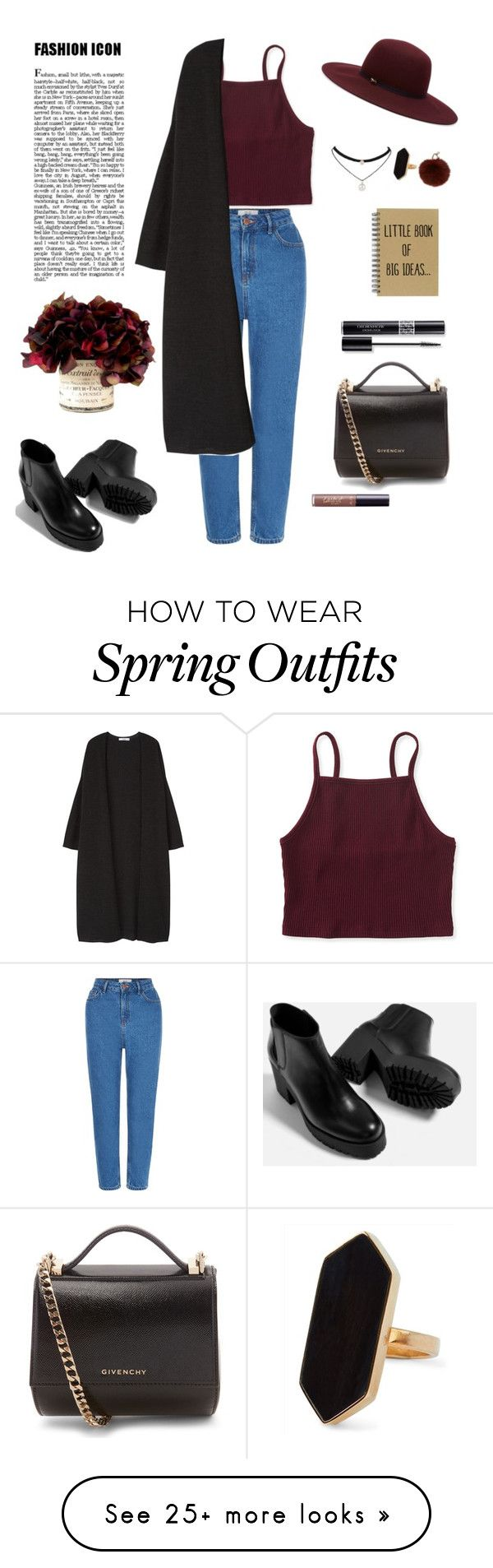 """""""Autumn outfit #autumn #fashion #casualfashion #autumnfashion"""" by daryabartkevich on Polyvore featuring New Look, Aéropostale, MANGO, Piel Leather, Ted Baker, Givenchy, tarte, Christian Dior, Jaeger and Yves Salom"""