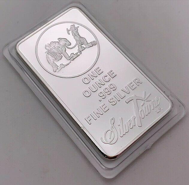 1 Oz 999 Fine Silver Bullion Bar American Prospector Us Union Metal Coin Collect Silver Bullion Fine Silver Silver Bars