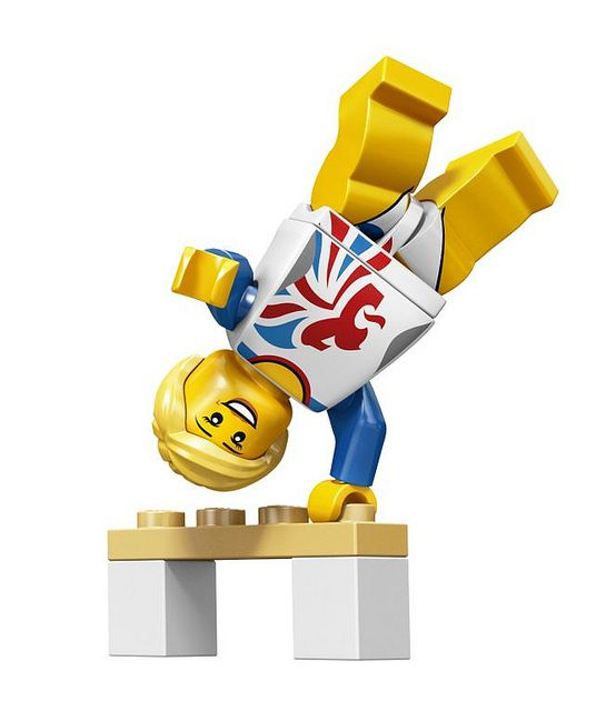 Flexible Gymnast Team GB Olympic Minifigures All Minifigure packets will be opened to guarantee the correct Minifigure – Comes complete with opened packets leaflet and accessories
