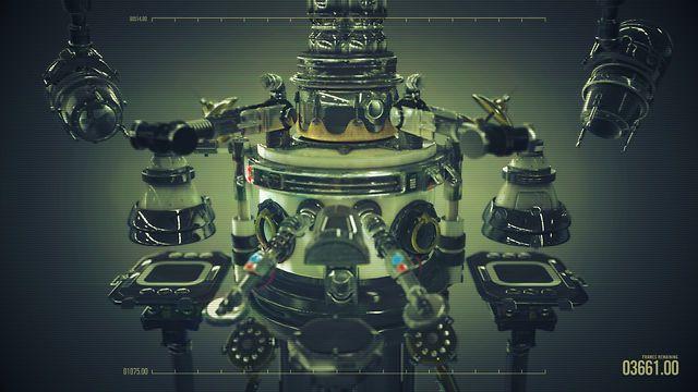 instrumental video nine by beeple. Simple machines work together to make music. (fullscreen, please)