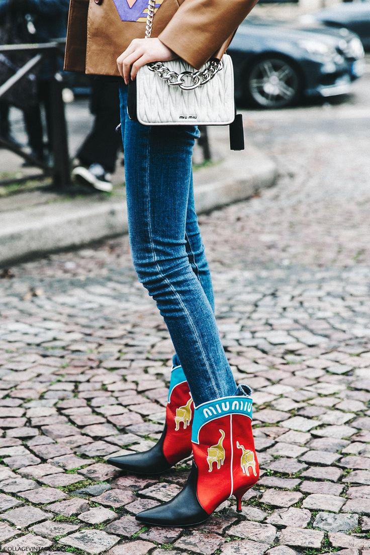 Estos botines de Miu Miu sacan esplendor a cualquier Look