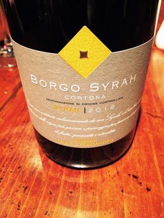 Borgo Syrah 2012 - Tenimenti Luigi d'Alessandro