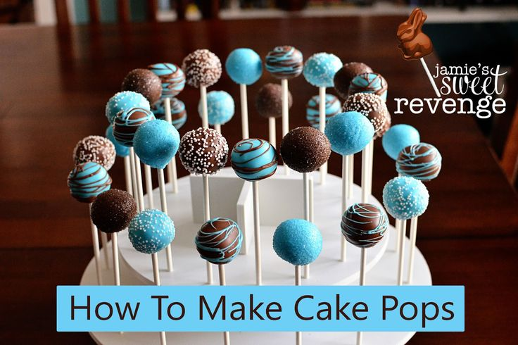 How To Make Cake Pops-  this is the best step by step I've seen on how to make a perfect pop! Also, hilarious.